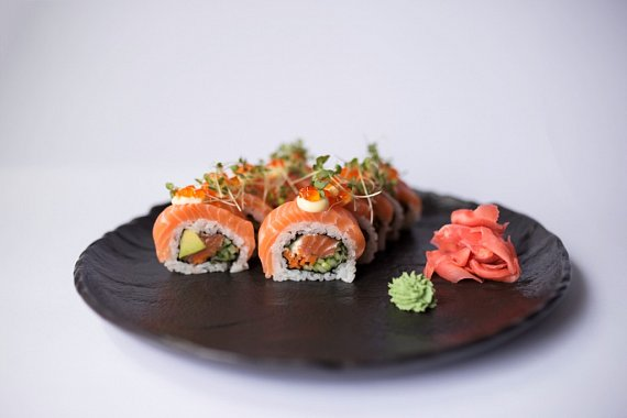 #21 Double Salmon Roll